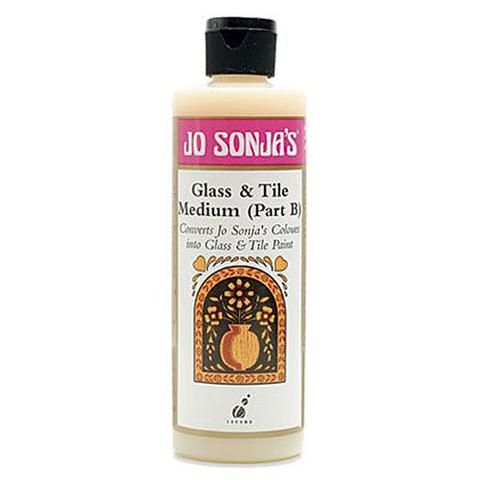 GLASS AND TILE PAINTING - JO SONJA MEDIUM 237ml BOTTLES
