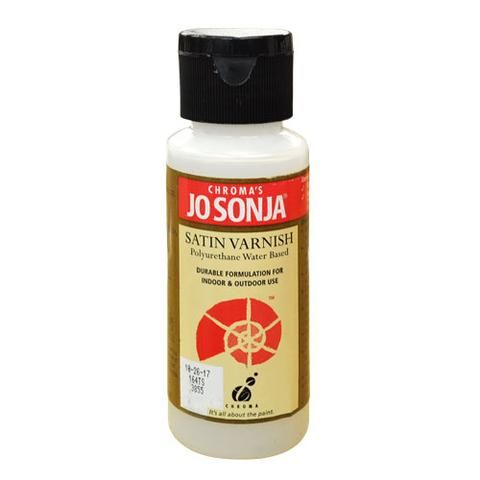 POLY VARNISH SATIN - JO SONJA MEDIUM 60ml BOTTLES