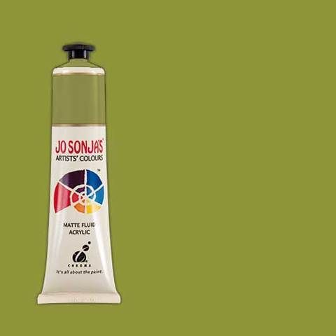 MOSS GREEN - Jo Sonja 75ml Artist Quality Acryllic Paint - Series 1