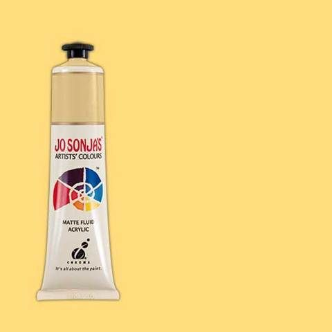Naples Yellow Hue - Jo Sonja 75ml Artist Quality Acryllic Paint - Series 1