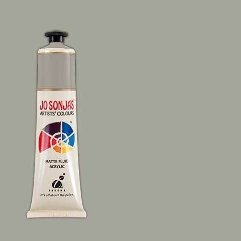 Mid Value Grey (Nimbus Grey) - Jo Sonja 75ml Artist Quality Acryllic Paint - Series 1