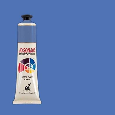 PACIFIC BLUE  - Jo Sonja 75ml Artist Quality Acryllic Paint - Series 1