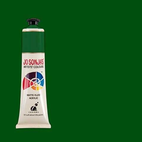 PINE GREEN - Jo Sonja 75ml Artist Quality Acryllic Paint - Series 1