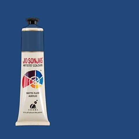 PRUSSIAN BLUE HUE - Jo Sonja 75ml Artist Quality Acryllic Paint - Series 1