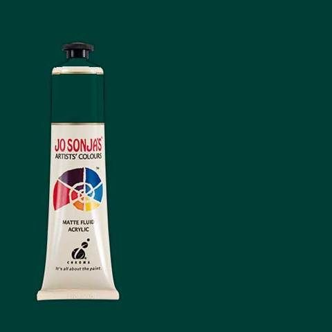 PTHALO GREEN - Jo Sonja 75ml Artist Quality Acryllic Paint - Series 1