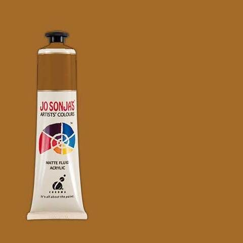 Raw Sienna - Jo Sonja 75ml Artist Quality Acryllic Paint - Series 1