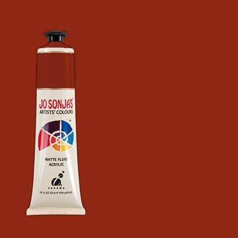 RED EARTH - Jo Sonja 75ml Artist Quality Acryllic Paint - Series 1
