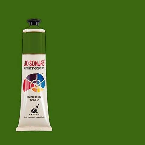 SAP GREEN - Jo Sonja 75ml Artist Quality Acryllic Paint - Series 1