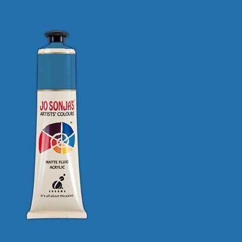 SAPPHIRE - Jo Sonja 75ml Artist Quality Acryllic Paint - Series 1