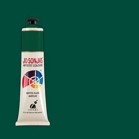 TEAL GREEN - Jo Sonja 75ml Artist Quality Acryllic Paint - Series 1