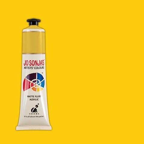 TURNERS YELLOW - Jo Sonja 75ml Artist Quality Acryllic Paint - Series 1