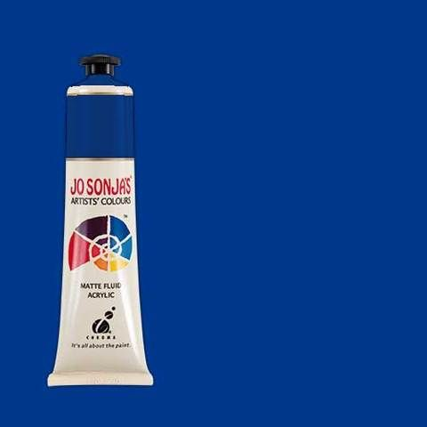 ULTRA BLUE DEEP - Jo Sonja 75ml Artist Quality Acryllic Paint - Series 1