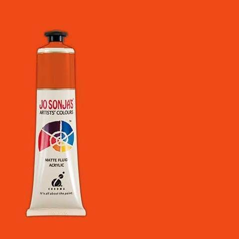 VERMILON - Jo Sonja 75ml Artist Quality Acryllic Paint - Series 1