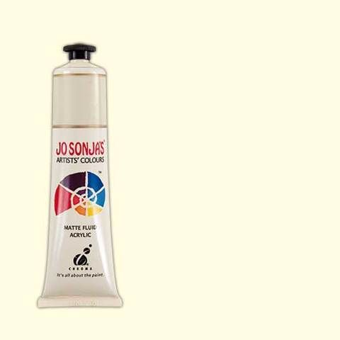 Warm White  - Jo Sonja 75ml Artist Quality Acryllic Paint - Series 1