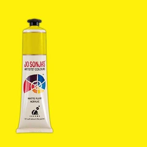 YELLOW LIGHT - Jo Sonja 75ml Artist Quality Acryllic Paint - Series 1