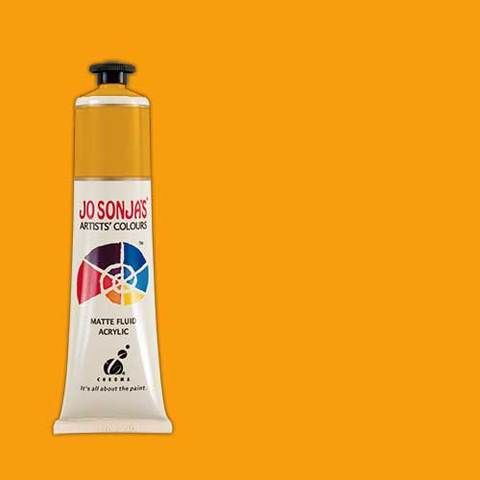 Yellow Orange - Jo Sonja 75ml Artist Quality Acryllic Paint - Series 1