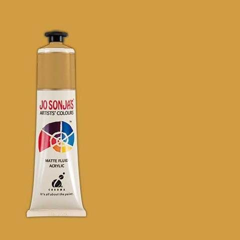 Yellow Oxide - Jo Sonja 75ml Artist Quality Acryllic Paint - Series 1
