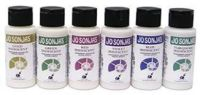 SET 2 - 6 x Jo Sonja 60ml Bottle Iridescent Acrylic Paint + 1 x 237 ml Flow Medium