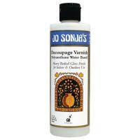 Decoupage Varnish - Jo Sonjas Medium 237ml Bottles