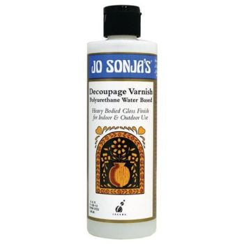 DECOUPAGE VARNISH - JO SONJA MEDIUM 237ml BOTTLES