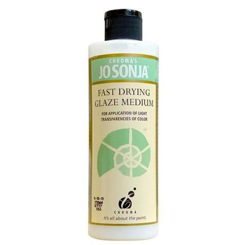 FAST DRYING GLAZE MEDIUM - JO SONJA MEDIUM 237ml BOTTLES