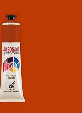PYRROLE RED ORANGE - Jo Sonja 75ml Artist Quality Acryllic Paint - Series 2