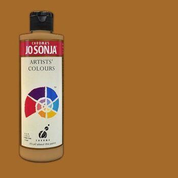Raw Sienna - Jo Sonja 235ml Artist Quality Acryllic Paint - Series 1 Product
