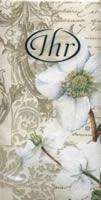 Christmas Rose, handkerchief   (10c)