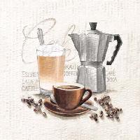 Coffee, 25 x 25cm   (50b)