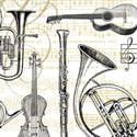 Concerto, 25 x 25cm   (70b)