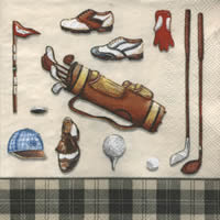 Golf Classic, handkerchief   (16c)
