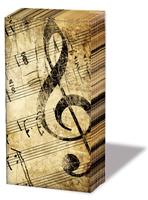 La Musica, handkerchiefs   (20c)