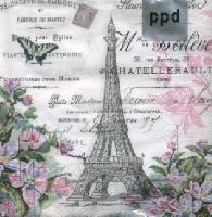 La Tour Eiffel, 25 x 25cm   (69b)