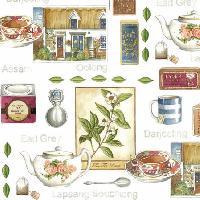 Tea Room, 25 x 25cm   (44b)