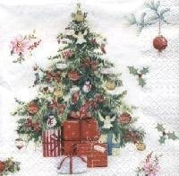 Beautiful Xmas Tree, 33 x 33cm   (9a)
