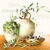 Mediterranean Olives 25x25   (27b)