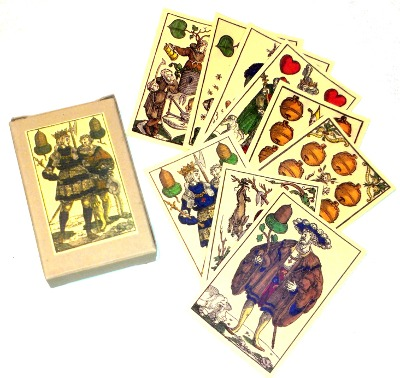 Sixteenth century German playing cards of Peter Flötner