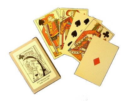 3. Sixteenth century French-suited playing cards