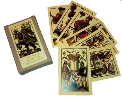 Sixteenth century German playing cards of Jost Amman