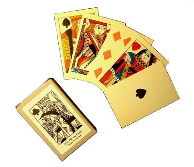 Seventeenth-nineteenth century playing cards