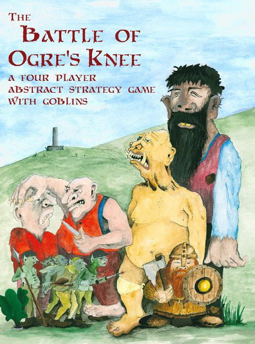 The Battle of Ogre's Knee board game cover image