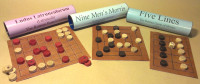 Three Roman Board Games