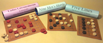 Three Roman Board Games