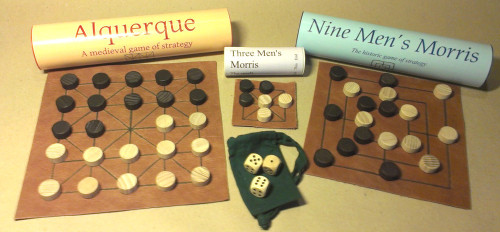 Thirteenth Century Gaming Collection (Wood Dice)