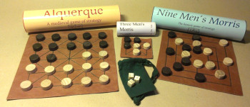 Thirteenth Century Gaming Collection (Bone Dice)