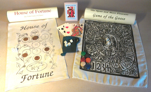Tudor Games Collection (with Bone Dice)
