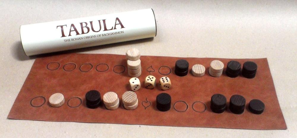 Tabula or Zeno\'s Game the Roman origins of backgammon