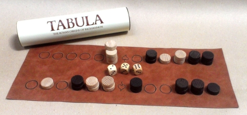 Tabula or Zeno\'s Game the Roman origins of backgammon