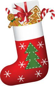 Christmas stocking image and link to Christmas stocking filler suggestions