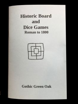 Historic Board and Dice Games - Roman to 1800